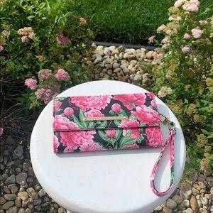 Betsy Johnson floral wallet NWOT